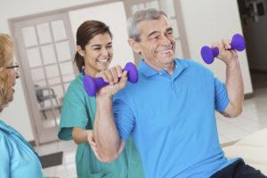 Rehabilitation & Therapy at Arbrook Plaza nursing home in Arlington, TX.